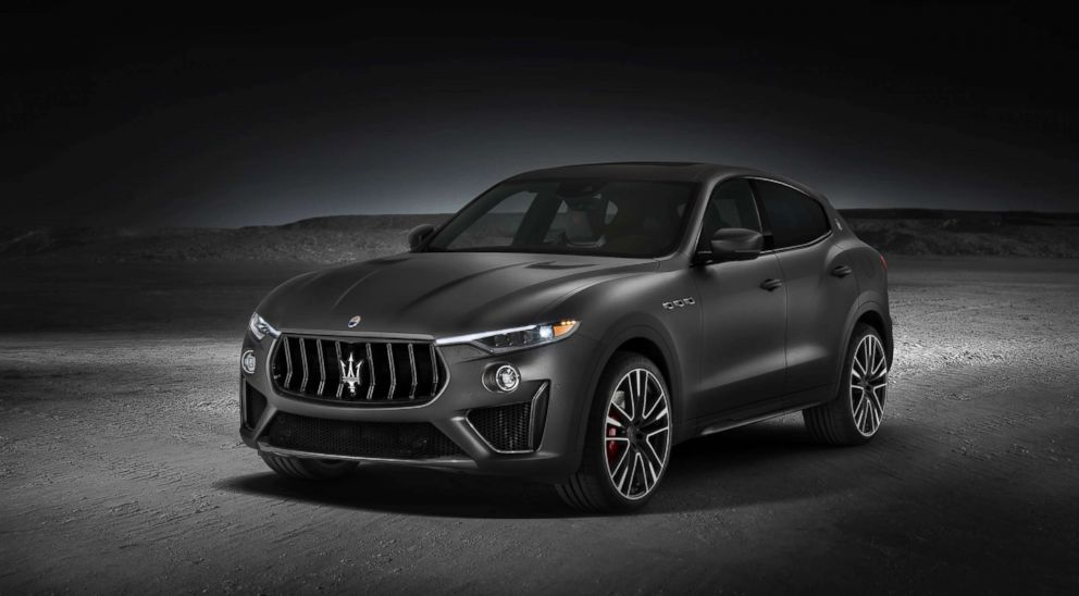 PHOTO: The Maserati Levante Trofeo is pictured in an undated promotional image.