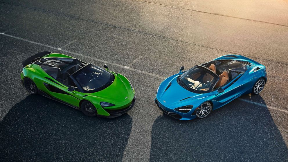 McLaren is bringing the fight to Ferrari and Lamborghini with 2 new supercars
