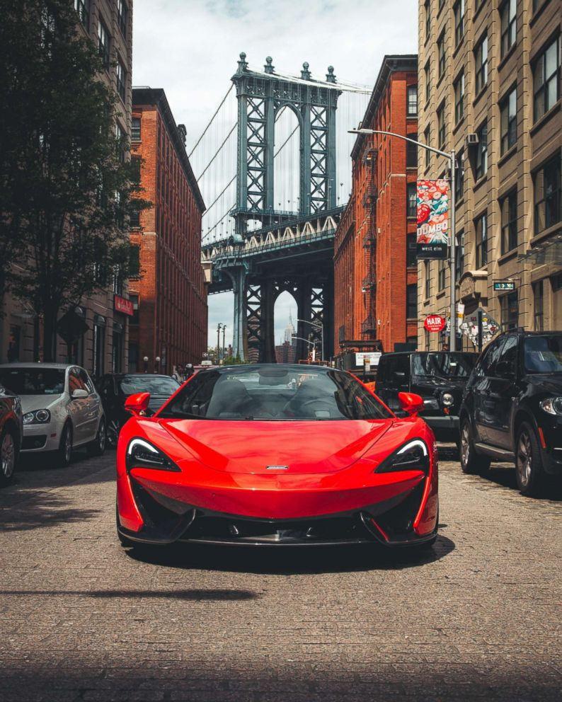 PHOTO: The McLaren 570S Spider photographed in Brooklyn, N.Y.