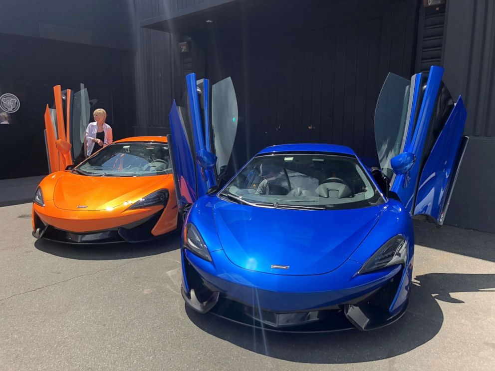 PHOTO: The 570S is the most affordable McLaren yet, according to Wayne Bruce, global communications and PR director for McLaren.
