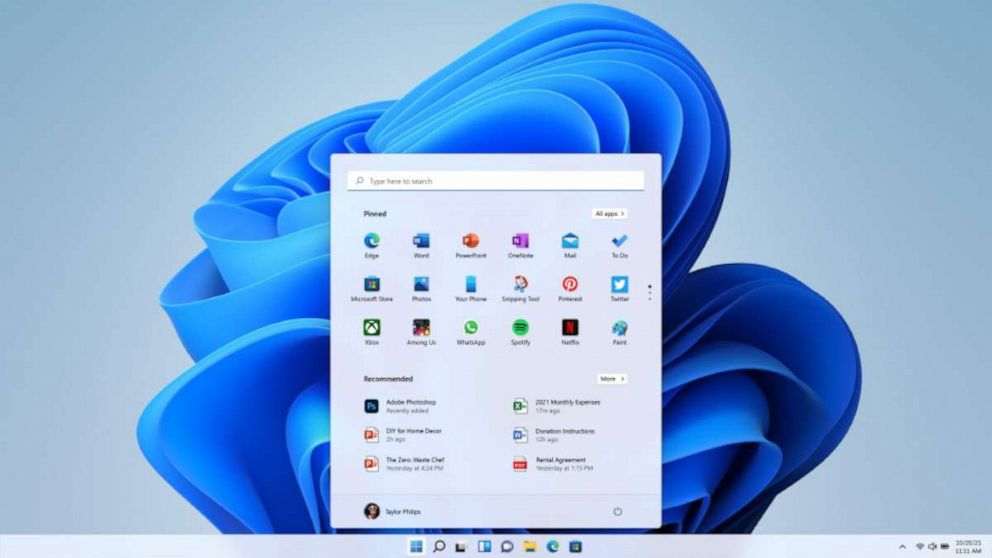 Microsoft unveils 1st look at highly anticipated Windows 11