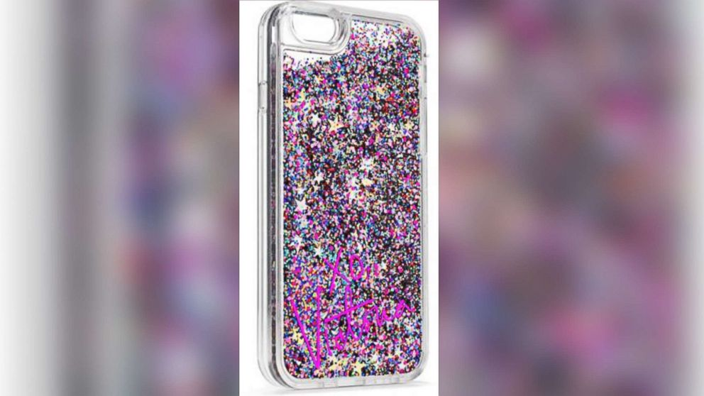 official photos ba31f b457c Hundreds of thousands of glitter iPhone cases recalled after causing ...