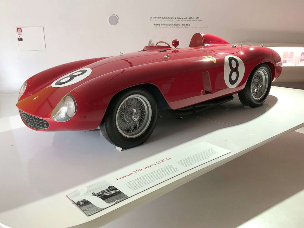 The 1954 750 Monza is one of Ferrari's most iconic models.