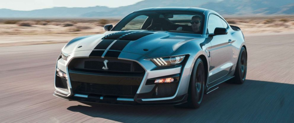 PHOTO: The 2020 Mustang Shelby GT500 comes with a 5.2-liter V8 engine that can produce 700-plus horsepower.