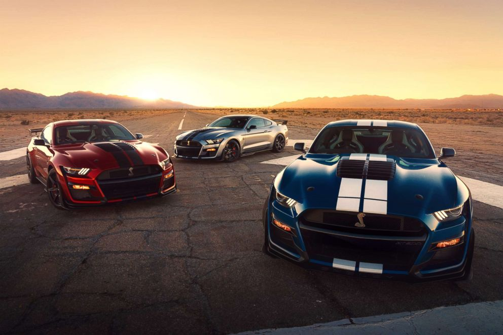 PHOTO: The 2020 Mustang Shelby GT500 is capable of mid-three-second 0-60 mph, according to Ford.