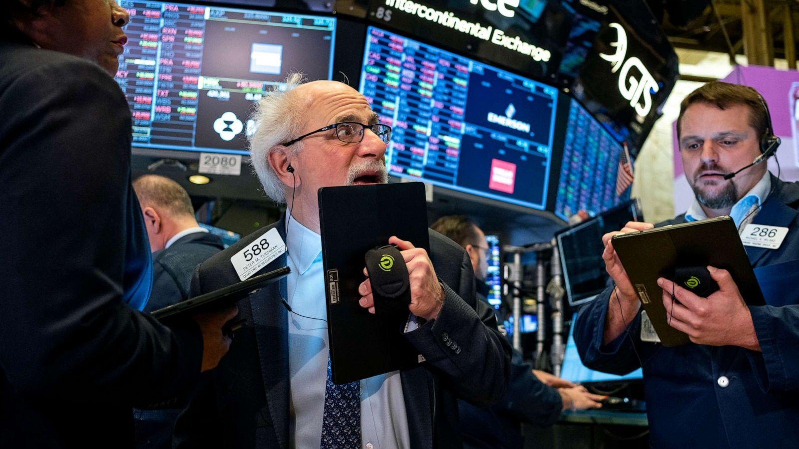 Dow Jones Plunges Most Since 2008 On Coronavirus Fears Abc News