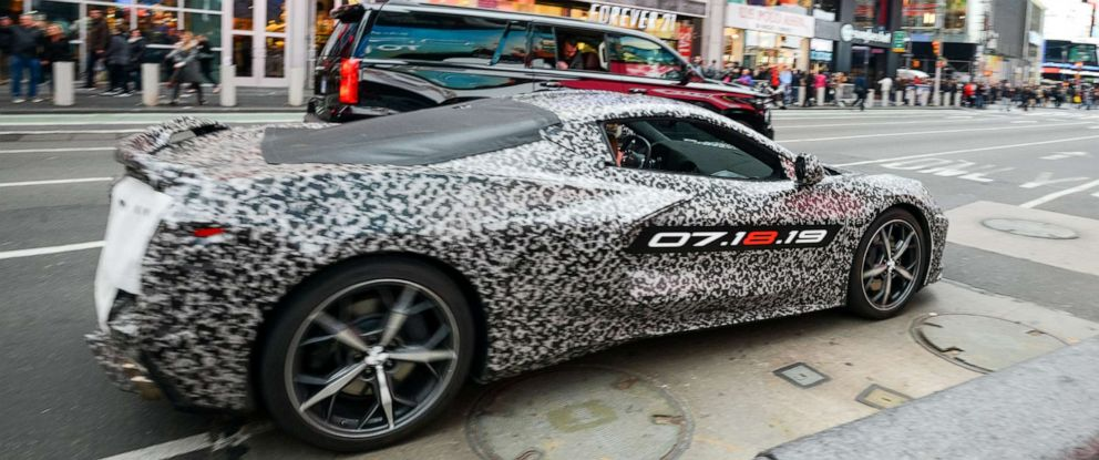 PHOTO: The next generation Corvette will be officially unveiled on July 18, 2019.