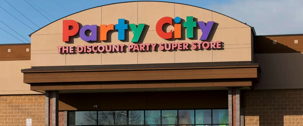 PHOTO: A logo sign outside of a Party City retail store location in Winchester, Va., Feb. 13, 2019.