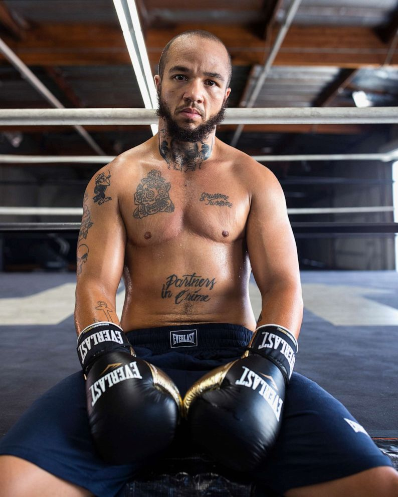 PHOTO: Patricio Manuel, seen here for Everlast, is the first trans-boxer to be the face of the brand.
