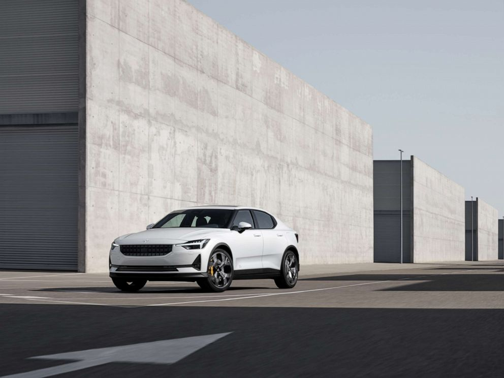 PHOTO: Polestar, the performance brand from Volvo, has chosen to use a vegan leather in its vehicles.