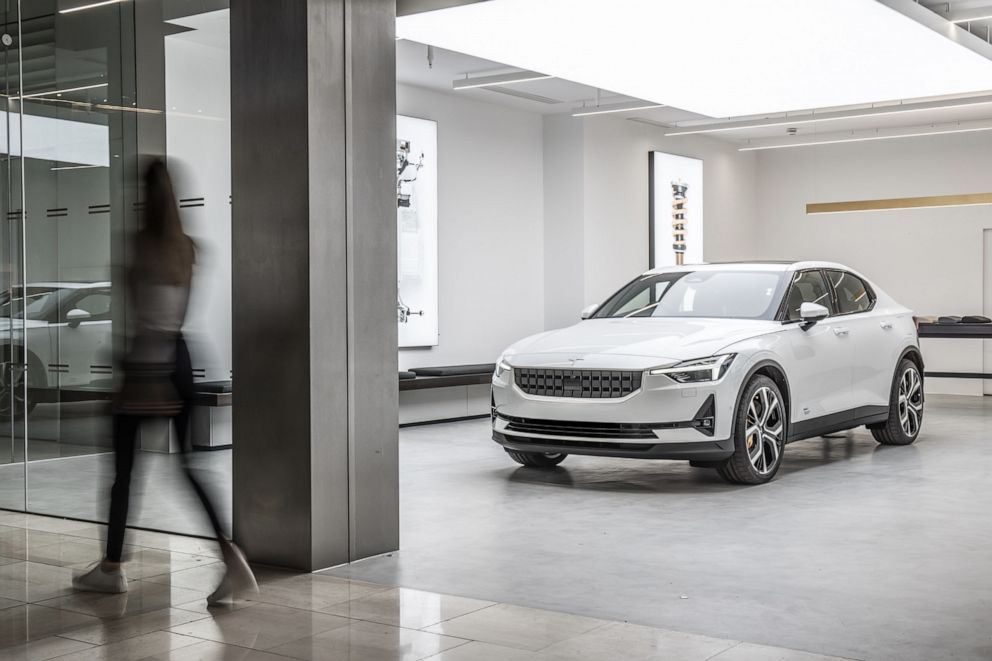 PHOTO: Polestar, the electric performance car brand from Sweden, is expanding its retail presence across the United States.