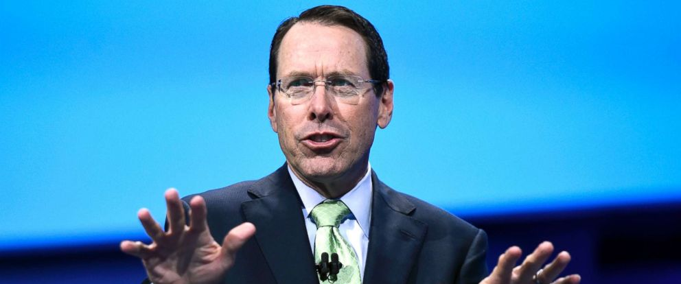 PHOTO: Randall Stephenson speaks during the International Business Machines Corp. (IBM) InterConnect 2017 conference in Las Vegas, Nevada, March 21, 2017.