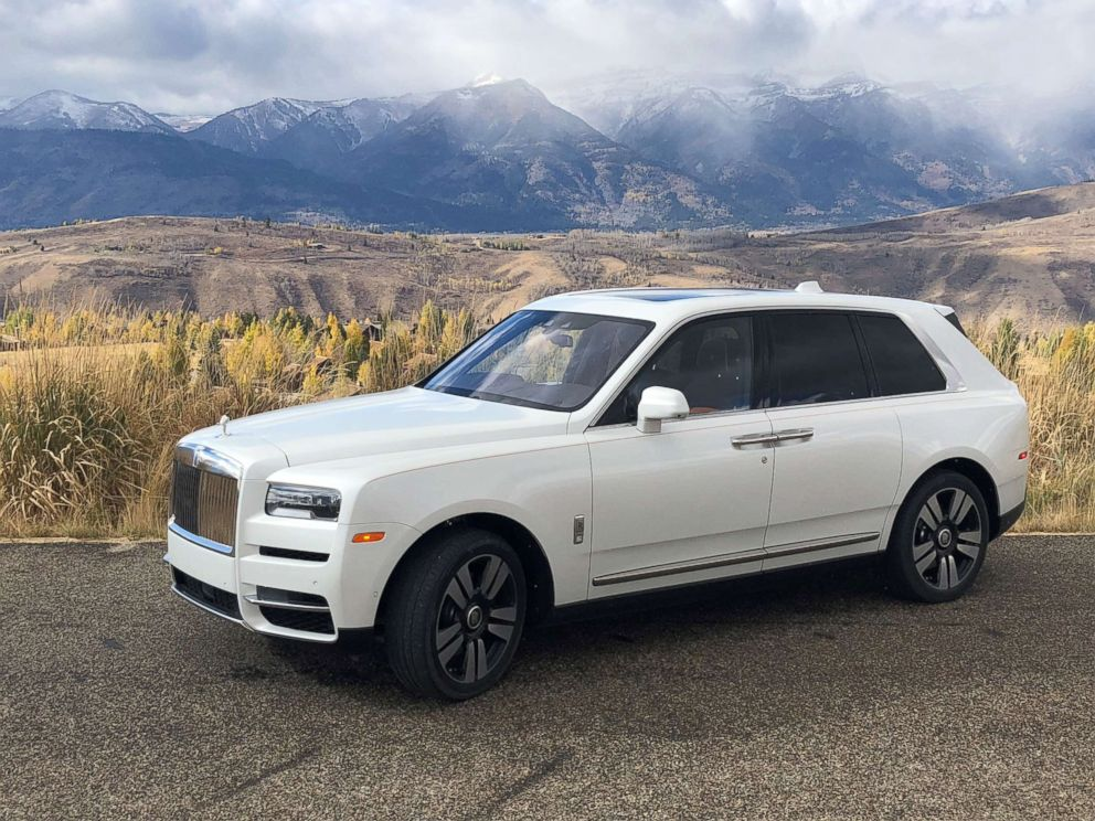 PHOTO: The Cullinan is hand-built at the Rolls-Royce factory in Goodwood, England.