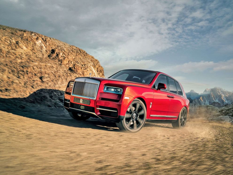 PHOTO: Rolls-Royce has officially entered the SUV market with the Cullinan.