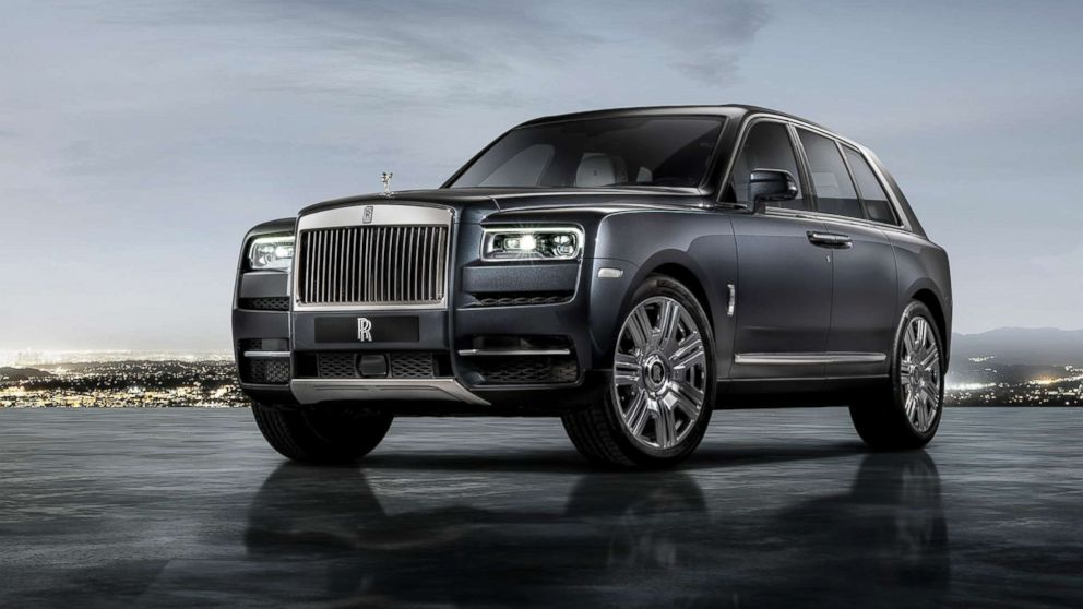 """The Rolls-Royce Cullinan is being marketed as a """"super-luxury"""" SUV."""