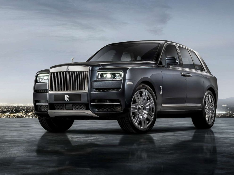 New Rolls-Royce Cullinan SUV revealed