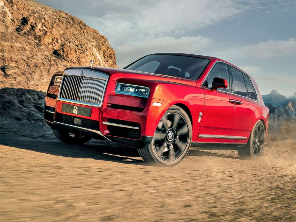 rolls royce brings bling to the suv with its 325k cullinan abc news. Black Bedroom Furniture Sets. Home Design Ideas