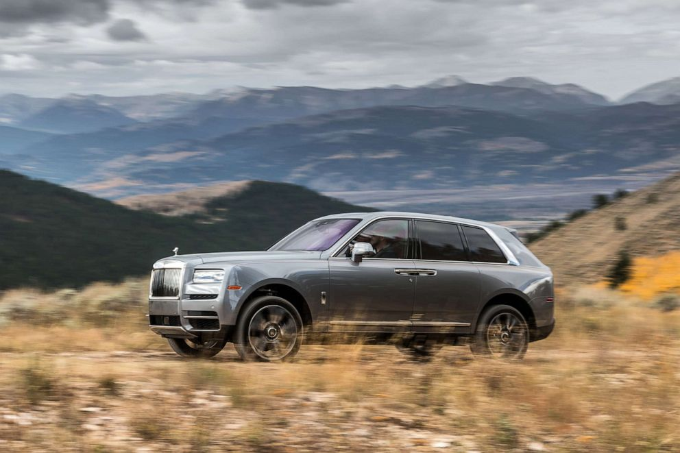 PHOTO: The Rolls-Royce Cullinan SUV starts at $325,000.