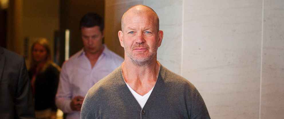 PHOTO: Lululemon Athletica Incs founder Chip Wilson arrives for the companys annual general meeting in Vancouver, in this June 11, 2014 file photo.