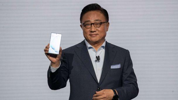 Samsung unveils sleeker, more powerful Galaxy Note 10