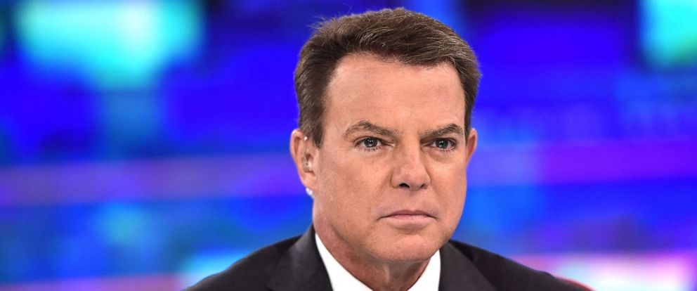 """PHOTO: In this Sept. 17, 2019, file photo, Shepard Smith is shown on the set of """"Shepard Smith Reporting"""" at Fox News Channel Studios in New York."""