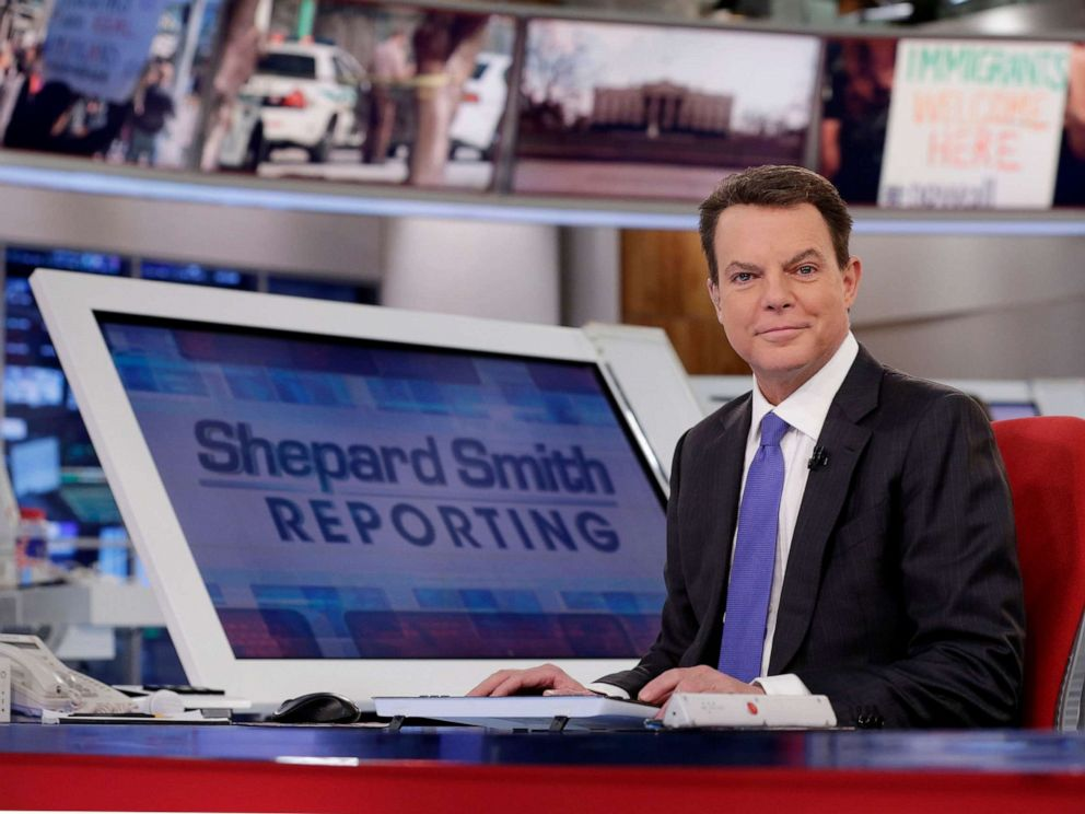 PHOTO: In this Jan. 30, 2017, file photo, Fox News Channel chief news anchor Shepard Smith appears on the set of Shepard Smith Reporting in New York.