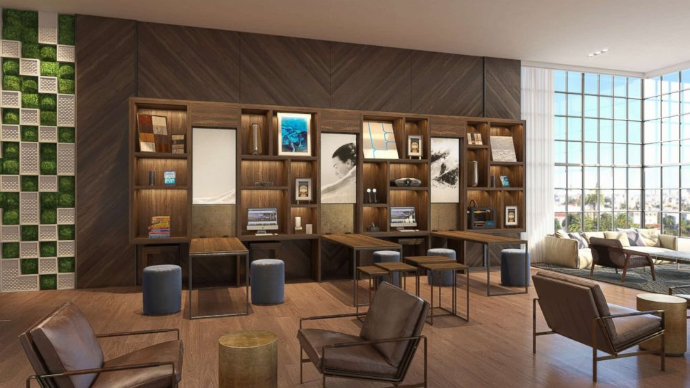 PHOTO: Hilton is catering to business travelers with its new Signia Hilton brand, by focusing on wellness, signature dining, and modern decor.