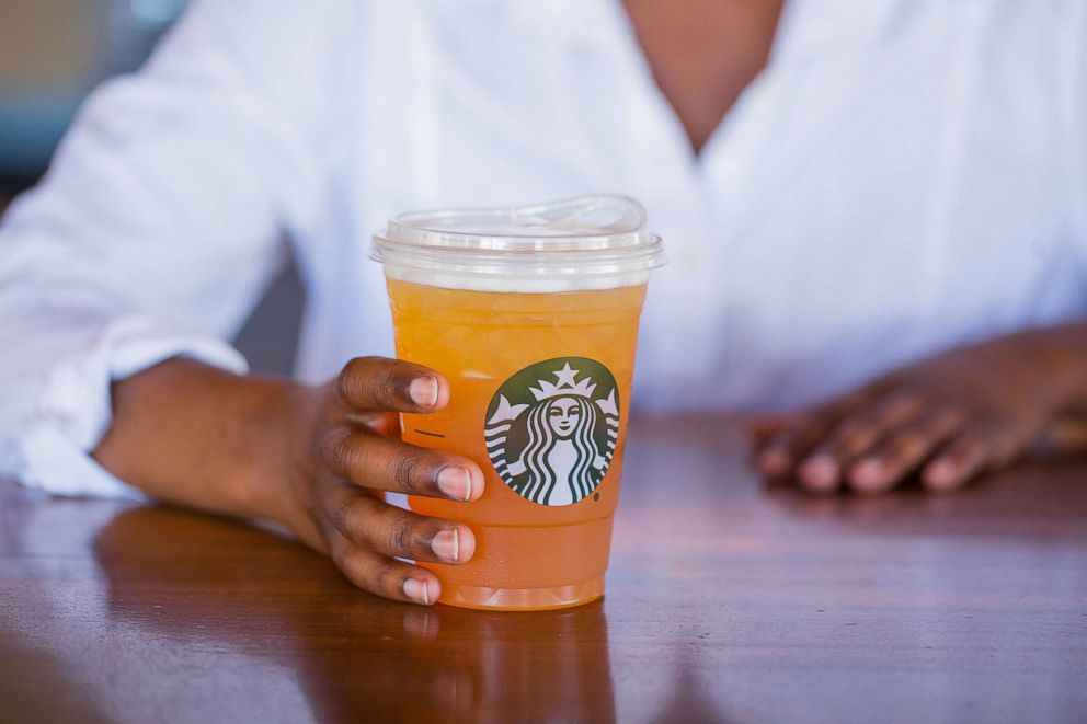 PHOTO: Starbucks will eliminate single-use plastic straws by making a strawless lid or alternative-material straw options available globally.