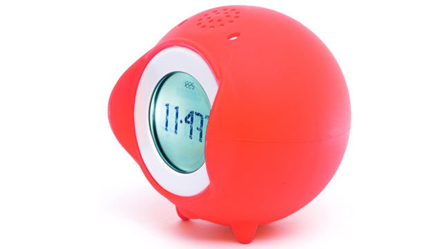 PHOTO: The Tocky Red alarm clock.