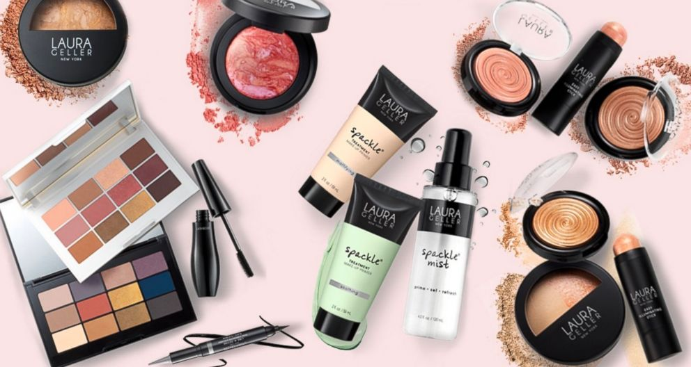 Laura Geller Beauty products are pictured here.