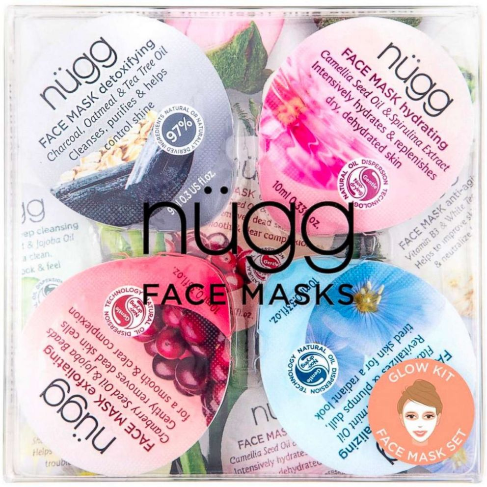 Nugg face masks are pictured here.