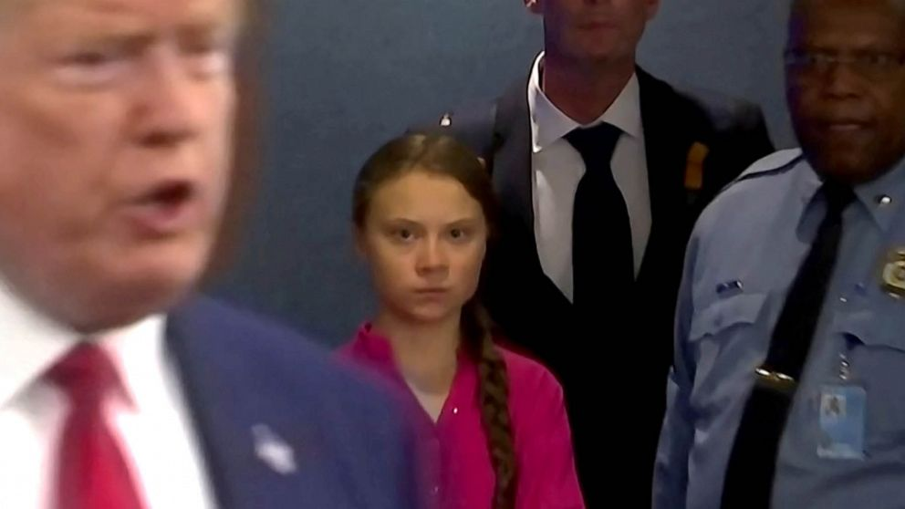 All eyes on potential Trump vs Greta Thunberg showdown at Davos