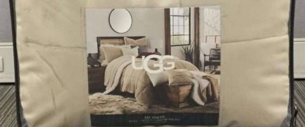 PHOTO: Hudson comforters by UGG are being recalled due to risk of mold exposure, Jan. 18, 2018.
