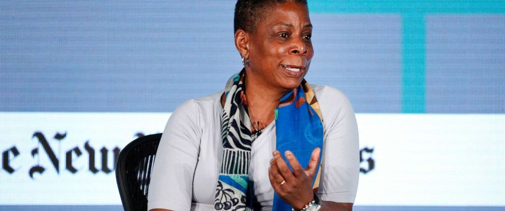 PHOTO: Ursula Burns, Xerox Corporation Chairwoman and CEO, speaks at The New York Times New Work Summit on March 1, 2016, in Half Moon Bay, Calif.