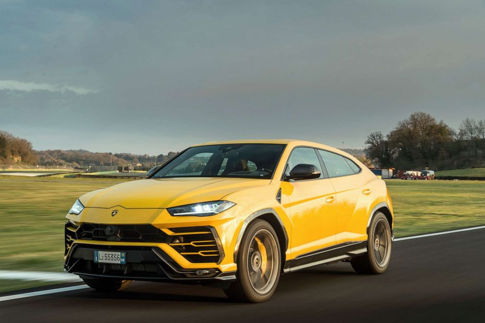 PHOTO: The Urus made its debut in December 2017.