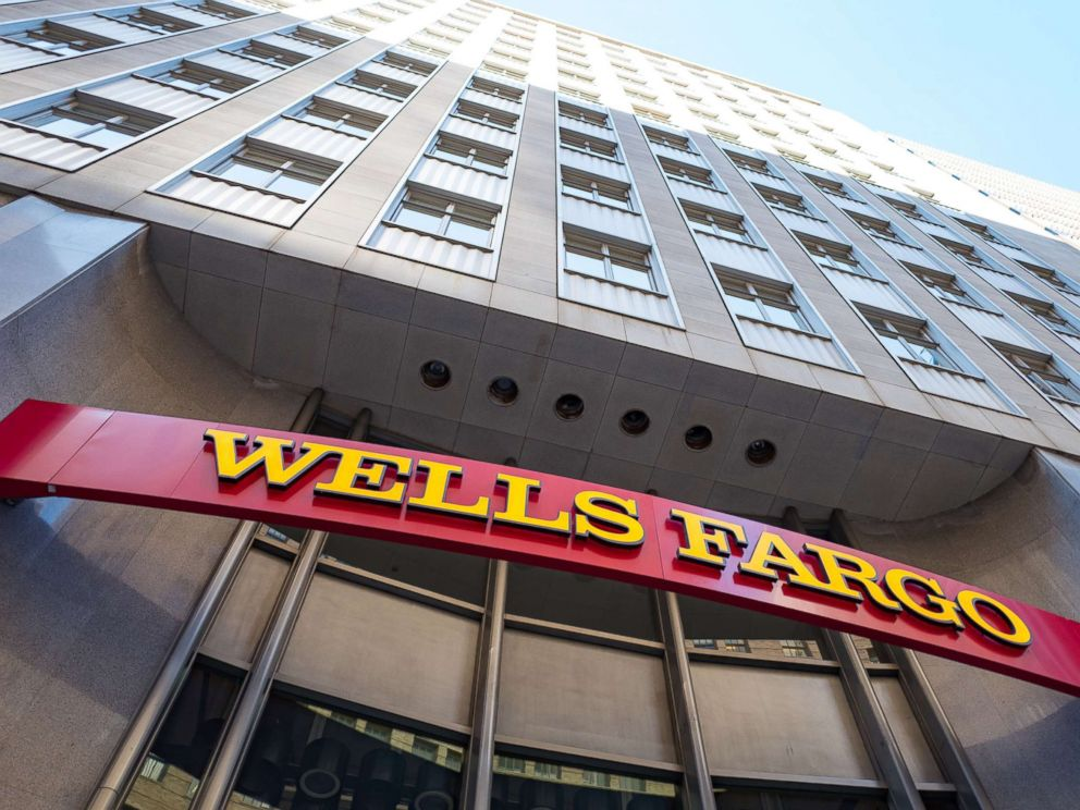 PHOTO: Signage with logo at headquarters of Wells Fargo Capital Finance, the commercial banking division of Wells Fargo Bank, in the Financial District neighborhood of San Francisco, Sept. 26, 2016.