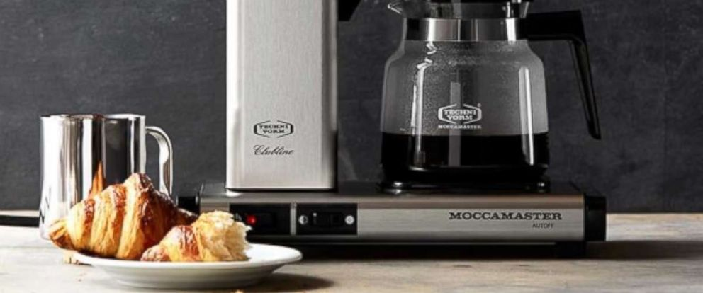 PHOTO: Technivorm Moccamaster Coffee Maker with Glass Carafe from Williams Sonoma