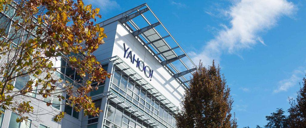 PHOTO: The headquarters of Internet company Yahoo in the Silicon Valley town of Sunnyvale, Calif., Oct. 28, 2018.