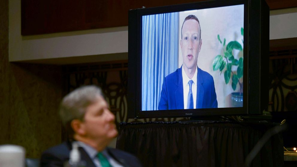 Lawmakers grill Facebook's Mark Zuckerberg and Twitter's Jack Dorsey in post-election hearing