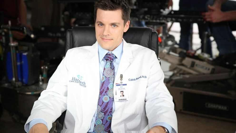 """Actor Nick Jandl guest stars as Dr. Caleb Rand onthe ABC's """"Nashville."""""""
