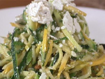 Raw Squash Salad