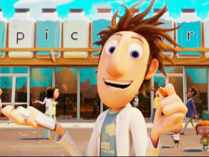 VIDEO: David Balustein Reviews Cloudy With A Chance of Meatballs