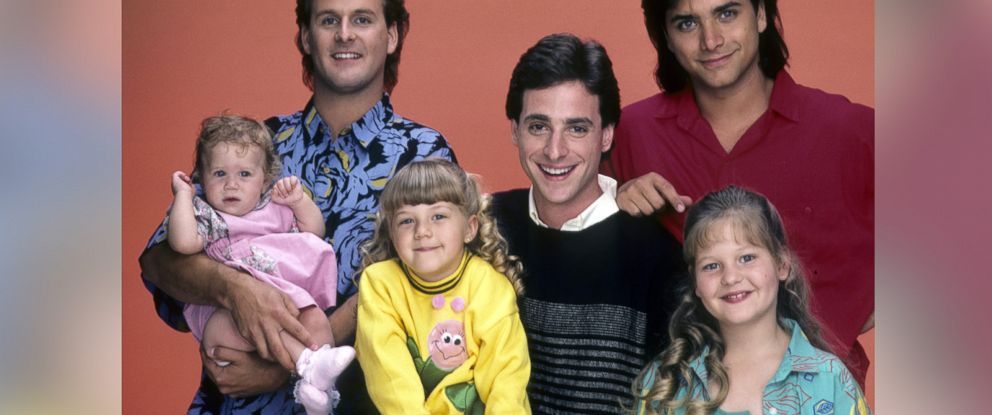 "PHOTO: The cast of ""Full House,"" June 26, 1987."