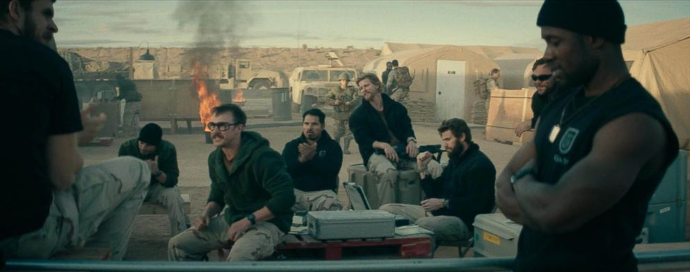 PHOTO: A scene from the movie 12 Strong.