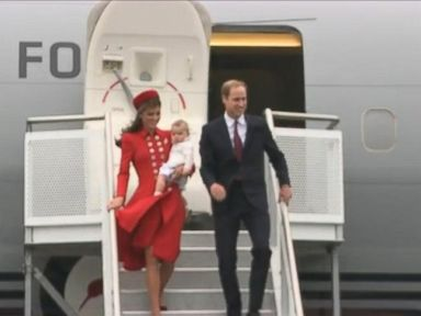 Royal Family Makes Trip to New Zealand