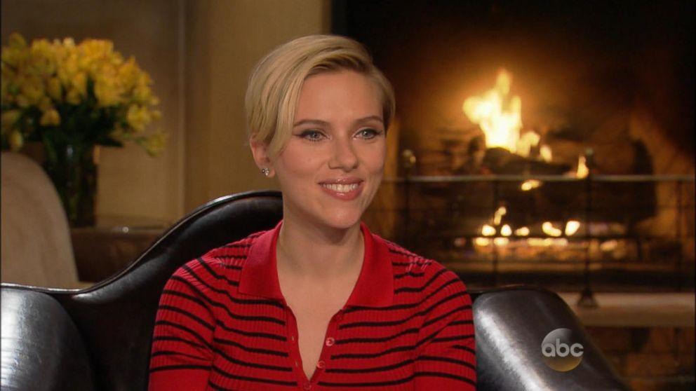 e1111ab30c7d3 Scarlett Johansson on Motherhood Being 'Overwhelming' Video - ABC News