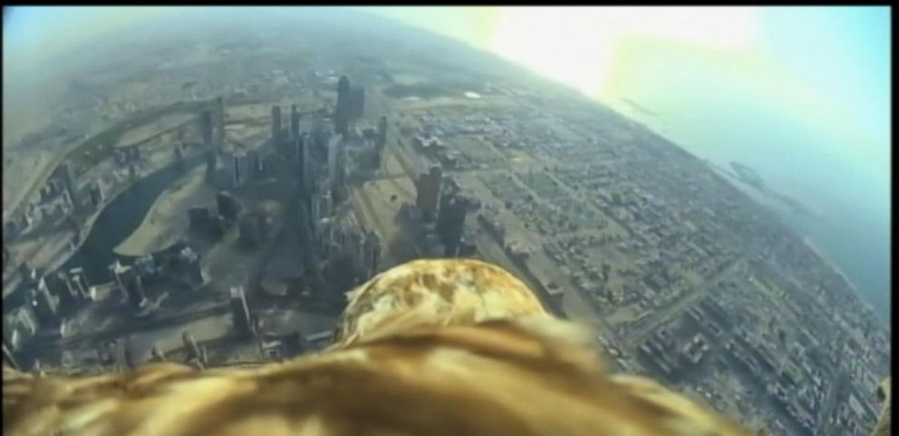 VIDEO: Eagles-Eye View From Worlds Tallest Building