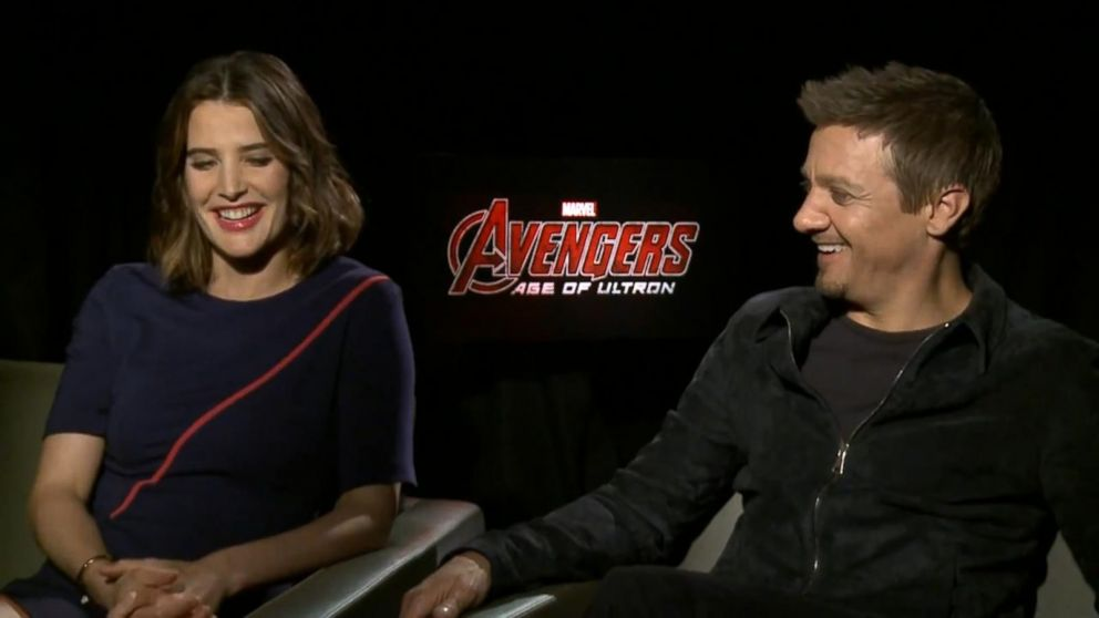 Cobie Smulders And Jeremy Renner On Marvel S Avengers Age Of Ultron Video Abc News