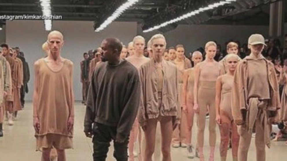 00bbe367 Kanye West Unveils New Fashion Collection Video - ABC News