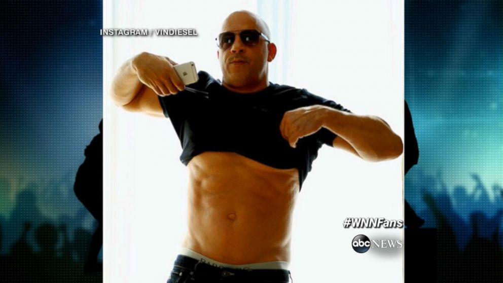 Vin Diesel Fights Back Against Body-Shamers Video - ABC News